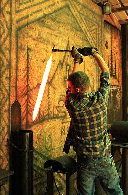 I would make an awesome blacksmith. Just sayin | what I ...
