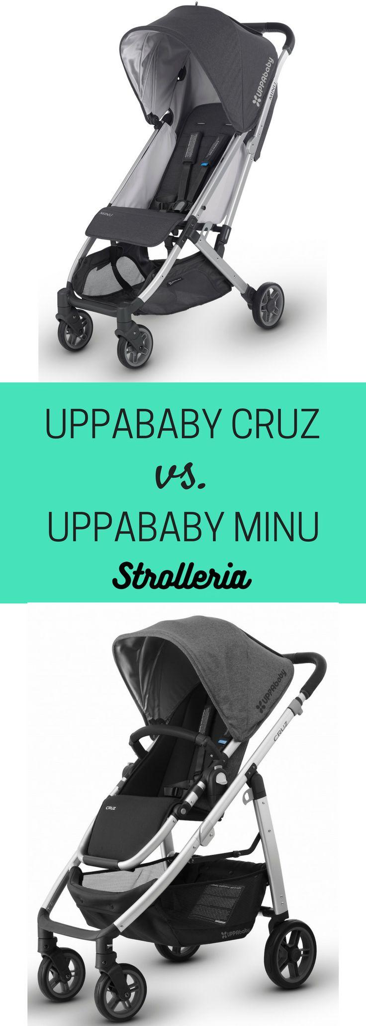 UPPAbaby CRUZ vs. UPPAbaby MINU Stroller Comparison
