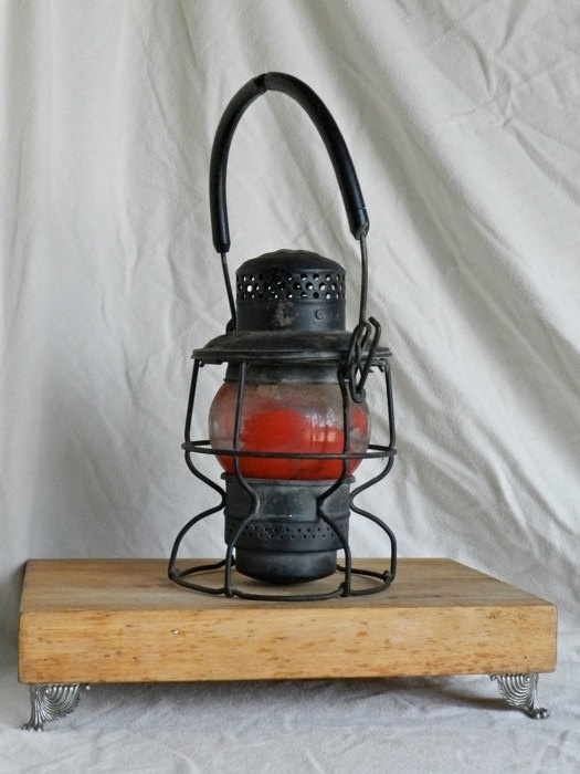 Canadian Pacific Railroad Lantern By Rt31vintage On Etsy
