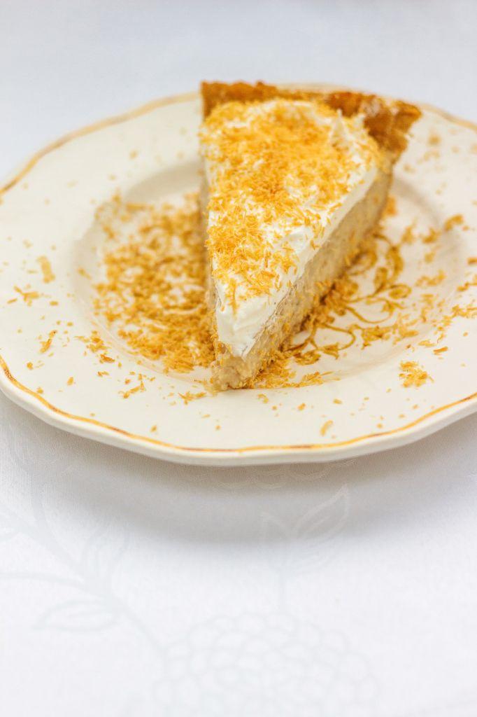 AIP Coconut Cream Pie the starch-free version @hewontknowitspaleo