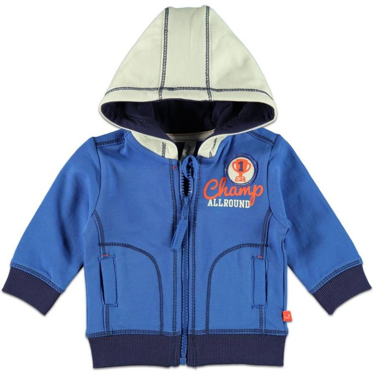 Babyface Vestje Boys (hoodie) Kobalt