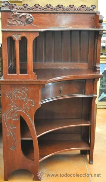 610 best art nouveau furniture furnishings images on for Muebles antiguos barcelona