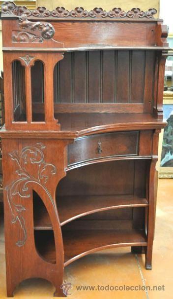 17 mejores im genes sobre muebles estilos espa oles en for Gaudi muebles