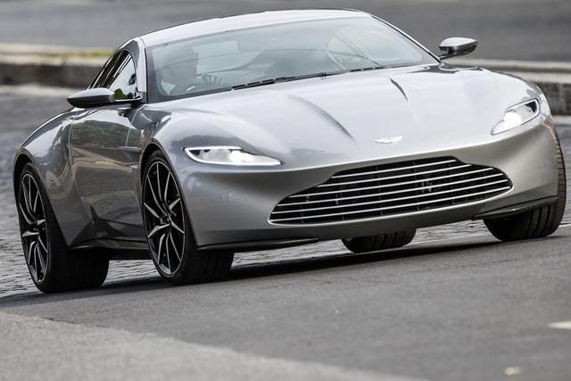 James Bond Takes the New Aston Martin DB10 for a Ride
