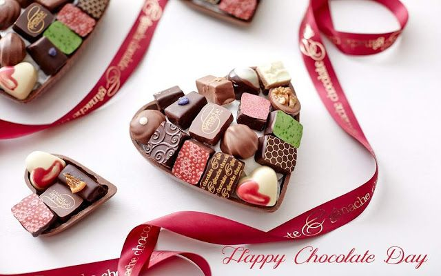 Happy Chocolate Day wishes, images, pictures, HD wallpapers. Download for free. #HappyChocolateDay #ChocolateDay #ValentinesDay