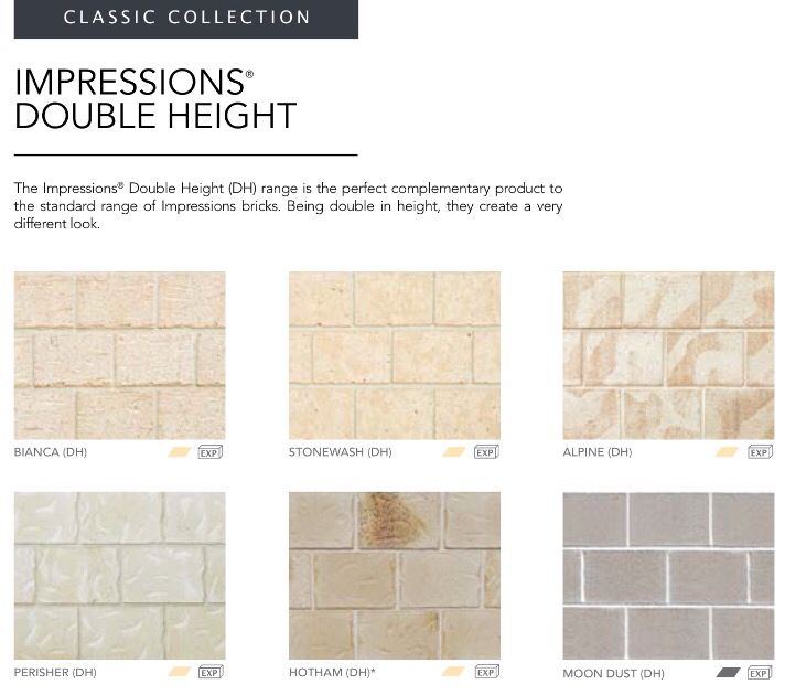 Boral Bricks Impressions Double Height Queensland