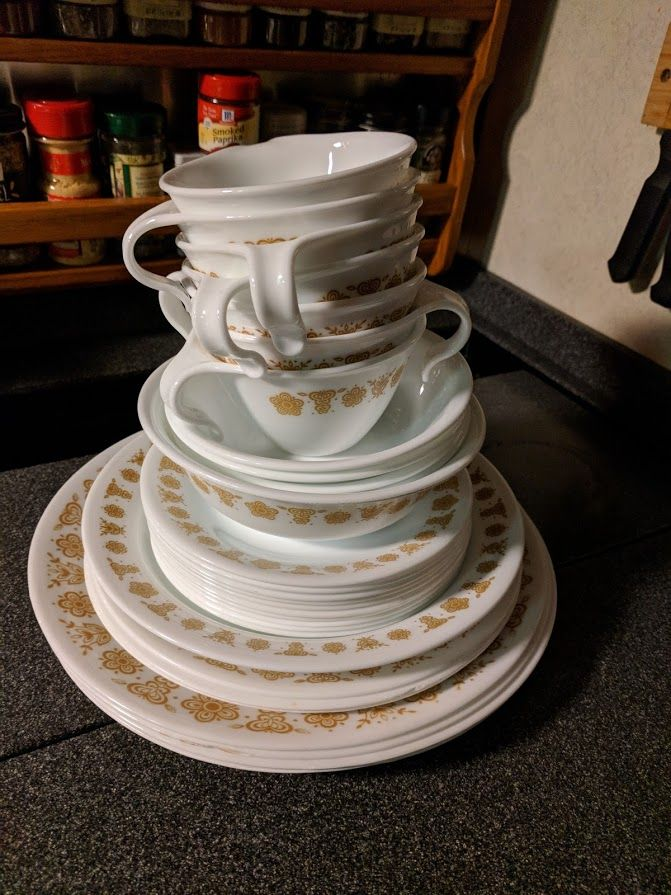 Photo - Google Photos : corelle thymeless herbs dinnerware set - pezcame.com