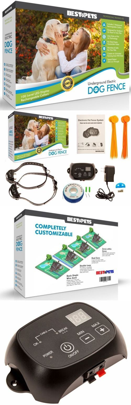 Electronic Fences 116388: Underground Electric Dog Fence 2 Wireless Shock Collar Waterproof Hidden System -> BUY IT NOW ONLY: $69.95 on eBay!