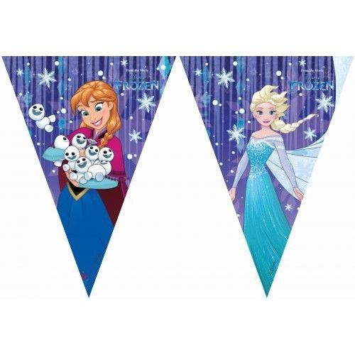 Disney Vlaggenlijn Frozen snowflake: 2 meter