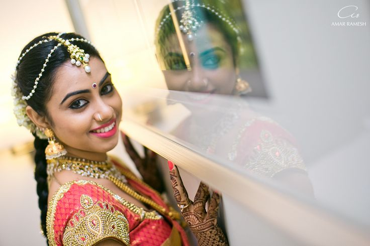 What makes a bride a beautiful one... - Amar Ramesh Photography