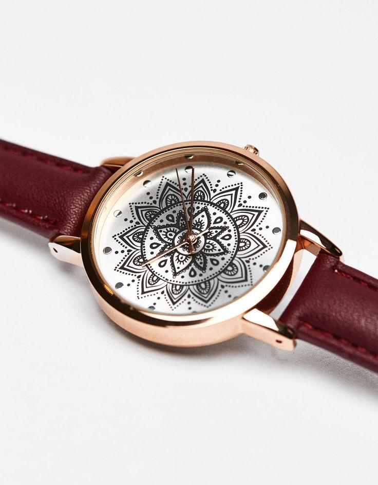Bershka Colombia - Reloj analógico mandala