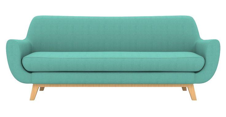 Brosa Filip 3 Seater Sofa - Petal Turquoise  | $1,099.00
