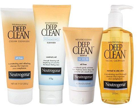 Neutrogena Deep Clean Series