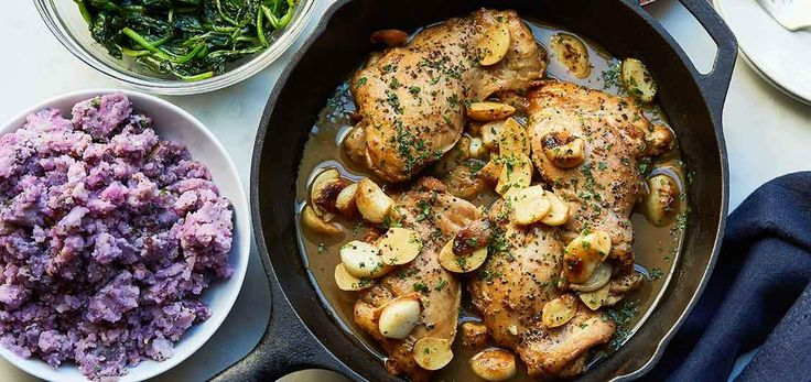40 Cloves Garlic Chicken