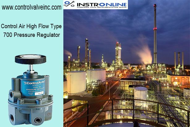 """"""" The ControlAir high-flow Type 700 is intended for applications that require high stream confine and correct process control.A poppet valve which is balanced by utilizing a moving stomach shields an enduring yield weight despite in the midst of wide supply weight variations.Stability of controlled weight is kept up under varying stream conditions utilizing a suction device tube which modifies the air supply as per the stream speed. The ControlAir high-flow Type 700 is intended for air…"""