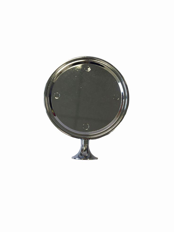 Celli Badge Holder Chrome - Round £15.00 #badgeholder #fontbadgeholder #chromefontbadgeholder #chromebadgeholder