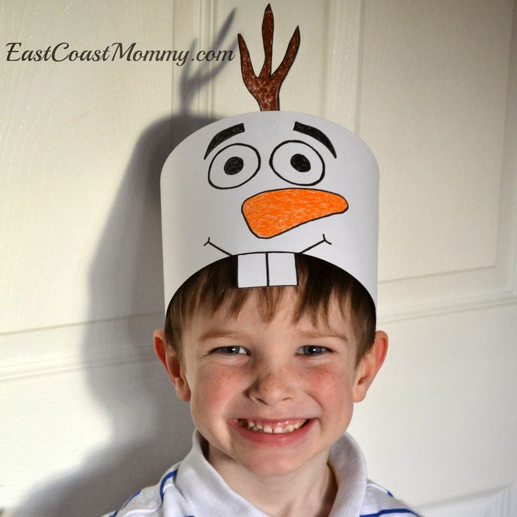 What an adorable craft for kids!  Print the FREE template, color, and glue. That's it!