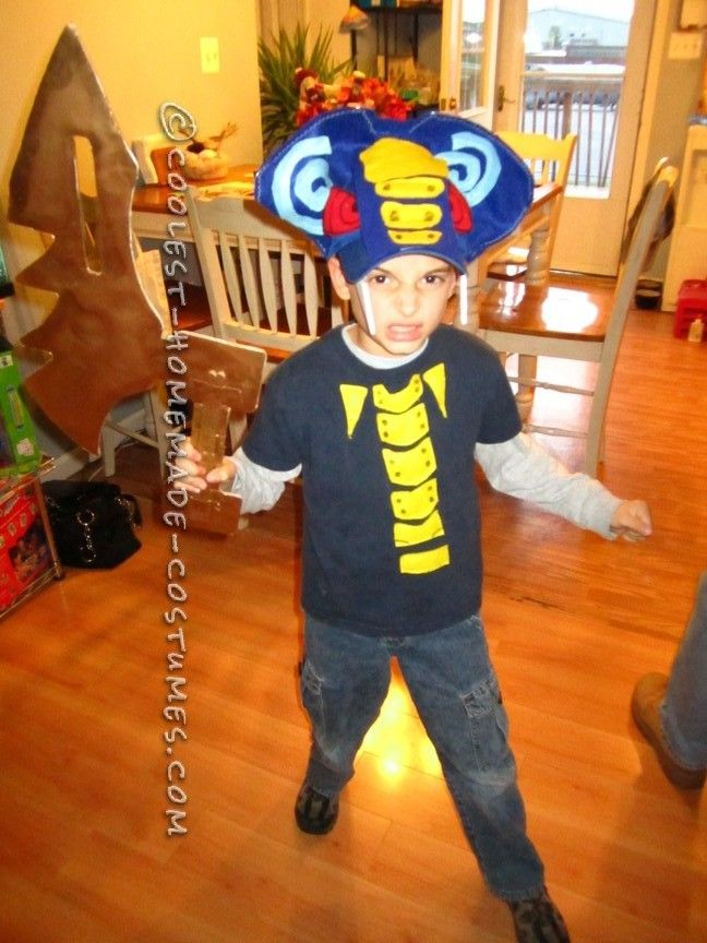 Homemade lego ninjago snake halloween costumes for boys for Easy halloween costume ideas for boys