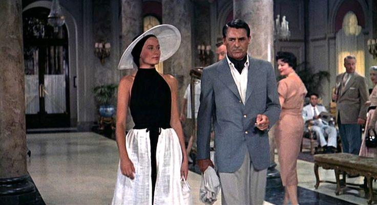 """Grace Kelly and Cary Grant in """"To Catch a Thief"""" (1955)."""