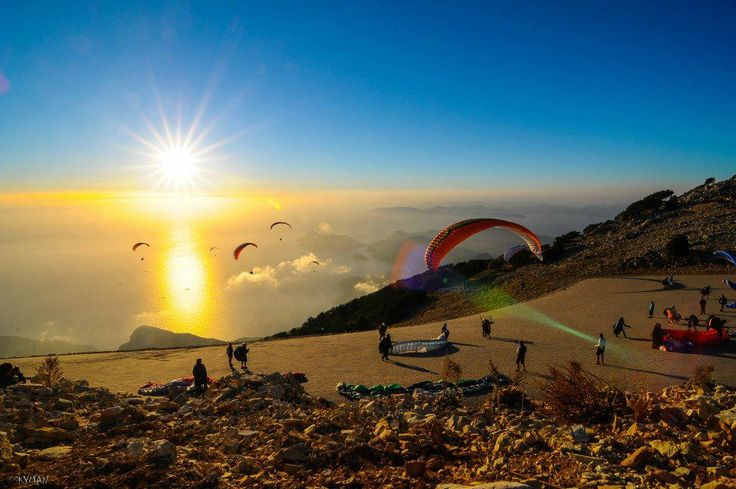 Fethiye Ölüdeniz: Soon visitors will be able to take a trip to the top of the world famous Babadag mountain in just 7 minutes when a new cable car is built.