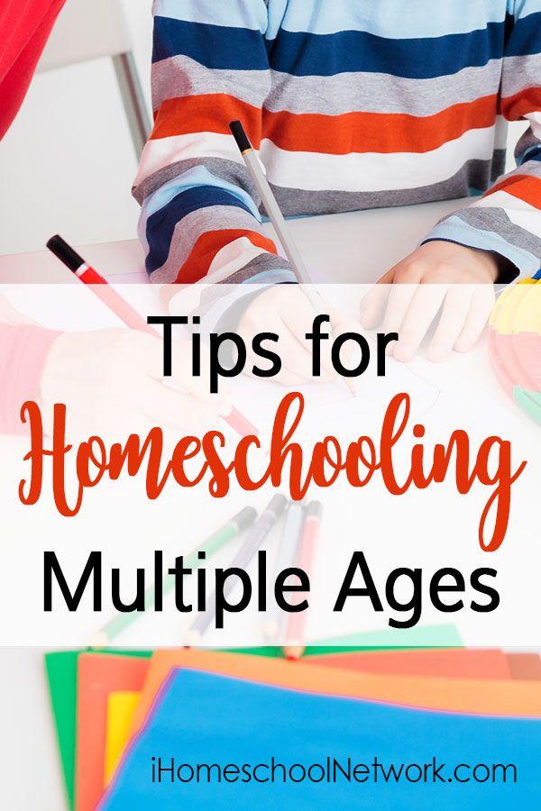 Tips for Homeschooling Multiple Ages • #homeschooling • large family homeschool