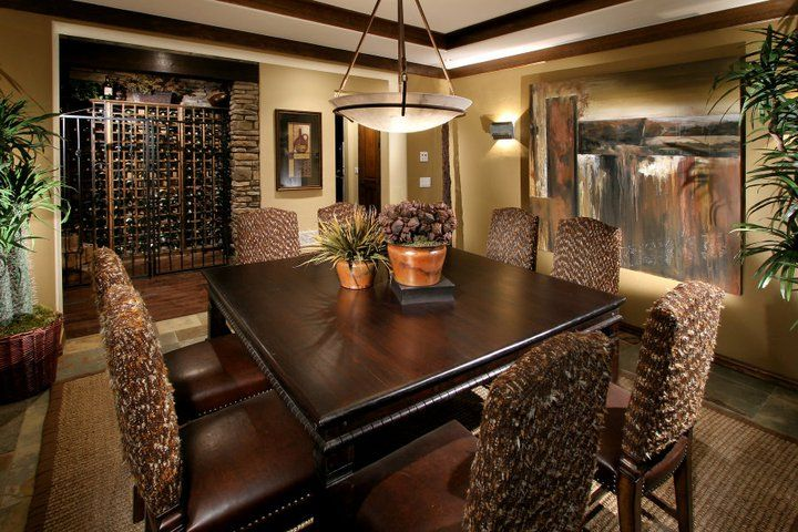 17 best images about model homes on pinterest models for Model home dining room