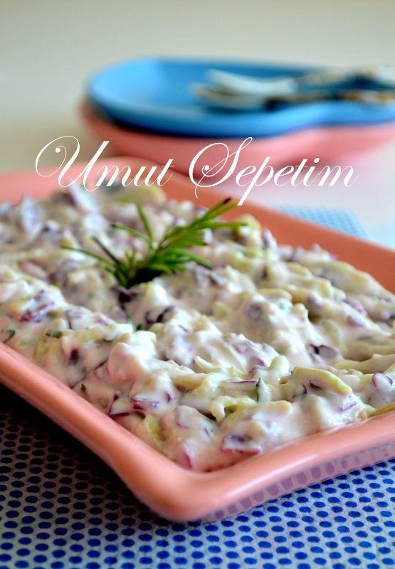Kabaklı Lahana Salatası | Umut Sepeti