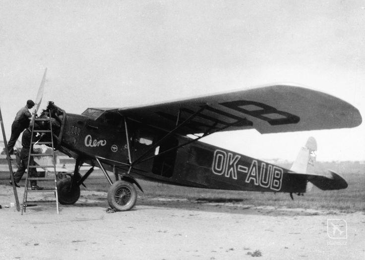 OK-AUB - Aero 35 - Praha - Kbely (LKKB) - planes.cz
