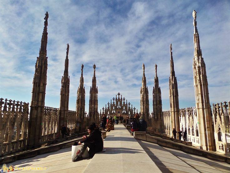 salire sul Duomo di Milano