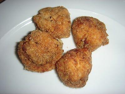 Croquetas de patata y setas es una receta para 4 personas - Como cocinar setas ...