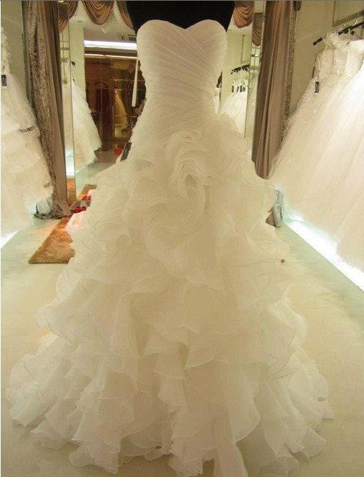 Hot Sale High Quality Beach Bridal Wedding Dresses by MALLECNDRESS, $169.00