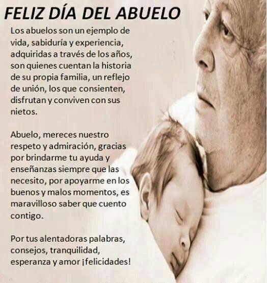 Dia del Abuelo!!