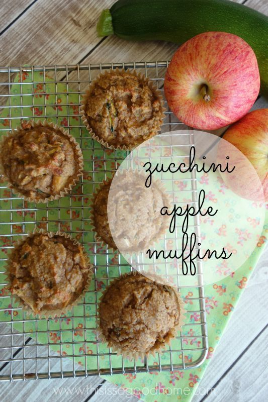 Zucchini Apple Muffins (Gluten/Grain-free, SCD Legal, Paleo) | This is so good...