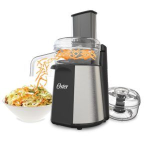 The fast and easy way to make a healthy, home-made dinner in just a few minutes. Quickly chop and grind your favorite recipes or shred and slice veggies directly into your own bowl. #myrrhshop #onlineshoppingnetwork #onlineshopping #onlineshop #foodpreparation #buykitchenappliance #buyhomeappliance #smallappliances http://homeappliances.myrrhshop.com/product/oster-oskar-2-in-1-salad-prep-food-processor/