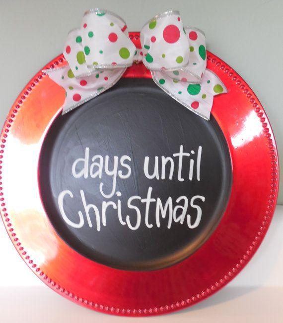 Advent Calendar, Days Till Christmas, Christmas Countdown, Holiday Decor