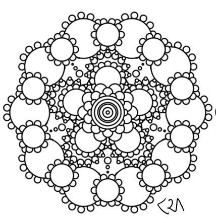 113 Best Mandala Coloring Pages Images On Pinterest