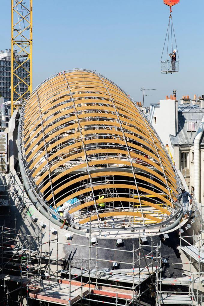 Pathé Foundation at Paris, by Renzo Piano.   METALOCUS