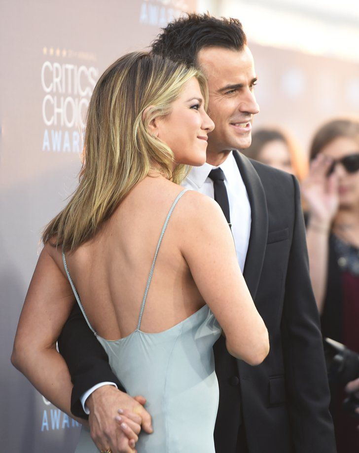 Pin for Later: The 33 Best Photos From the Critics' Choice Awards  Pictured: Jennifer Aniston and Justin Theroux