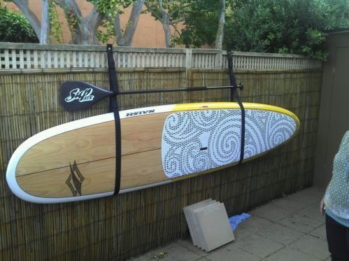 25 Best Ideas About Paddle Board Racks On Pinterest