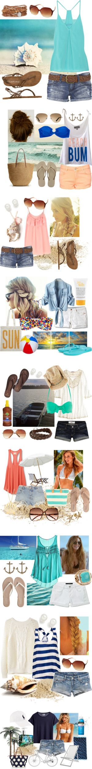Beach/ Summer time styles