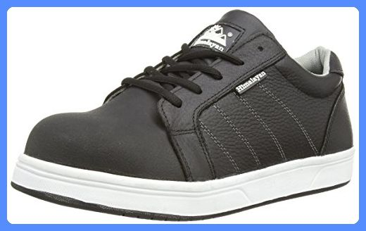 Himalayan 5125 SBP SRA Black Steel Toe Cap Skater Style Safety Trainers Sneakers (US 10)