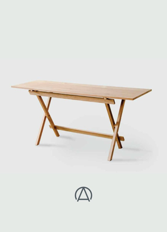 Trestle desk by James Mudge from www.africandy.com