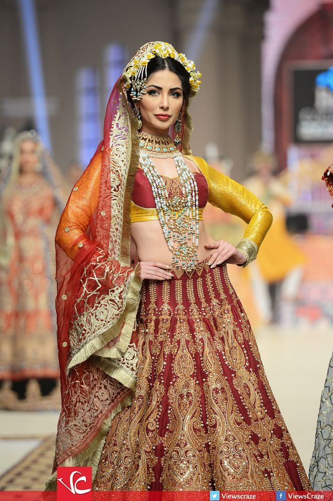 Ali Xeeshan Collection at Telenor Bridal Couture Week 2014