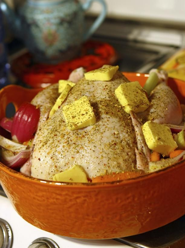 Tips for Roasting a Turkey, Chicken or Goose #Thanksgiving #HomeTips