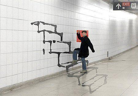 Fremfor å lansere tragiske musikkvideoer burde Oslo Sporveier/Ruter lansert 3D kunst som dette!