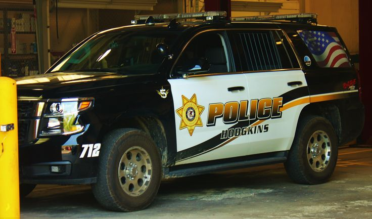 Hodgkins, Illinois SW of Chicago 2016 Police cars