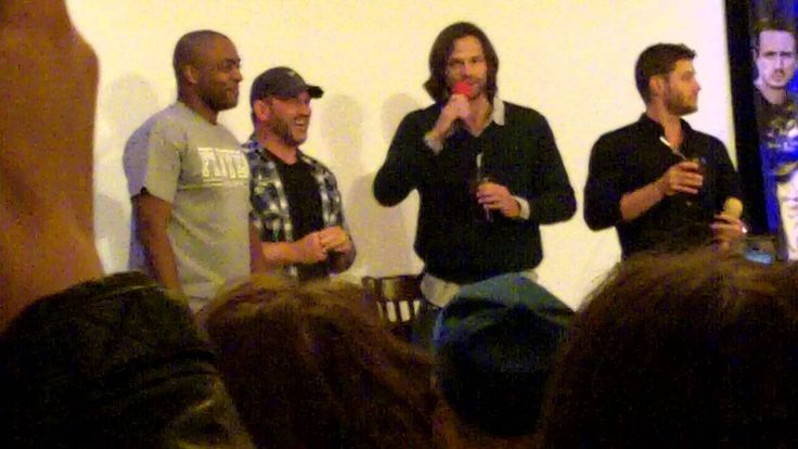 [VIDEO] Ty Olsson and Rick Worthy crash the Jared and Jensen convention panel at NJCon 2013 by bringing J2 some rum and coke