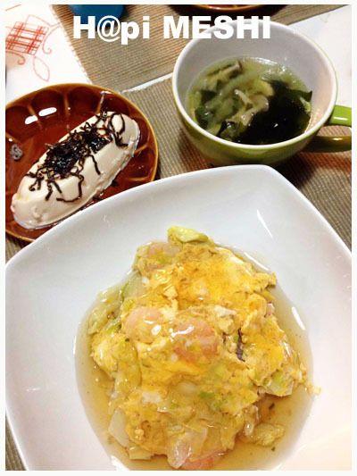 うどんスープの素で簡単天津飯! by juMMMpCoさん | レシピブログ ...