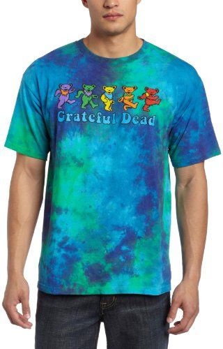 Liquid Blue Men's Grateful Dead Dancing Bear T-Shirt - List price: $26.00 Price: $21.12 Saving: $4.88 (19%)