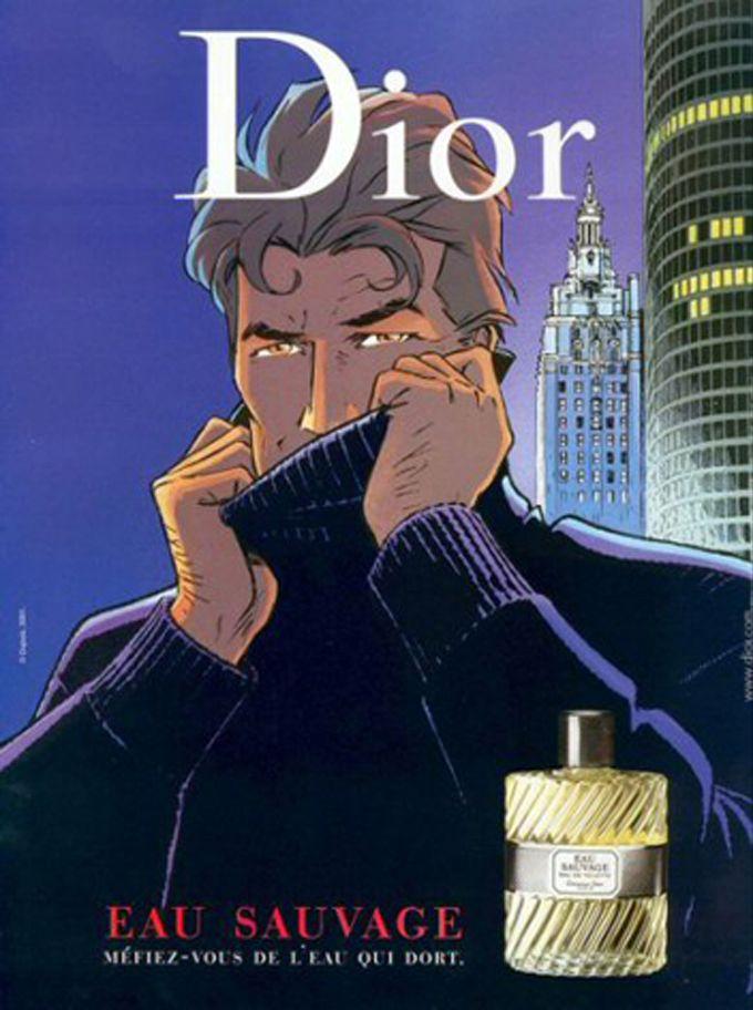 L'Eau Sauvage de Christian Dior s'offre Alain Delon
